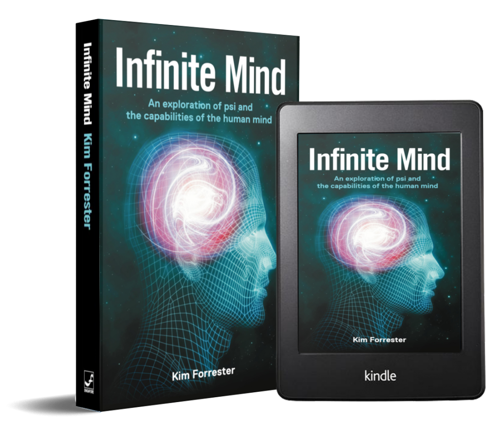 Infinite Mind is available in paperback and eBook.