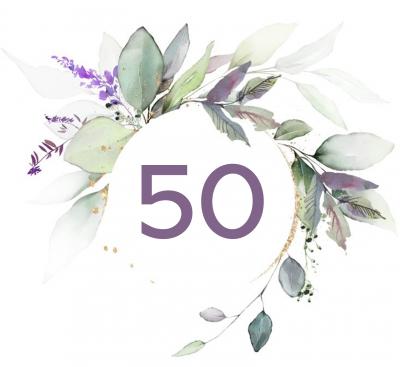 50th Birthday $50 Special